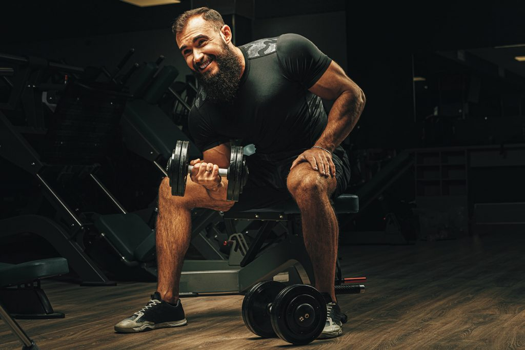 high rep workout