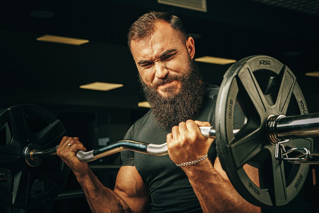 low weight high reps to build muscle